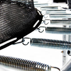 Trampolin dan Jaring Pelindung Essential 420 - Hijau