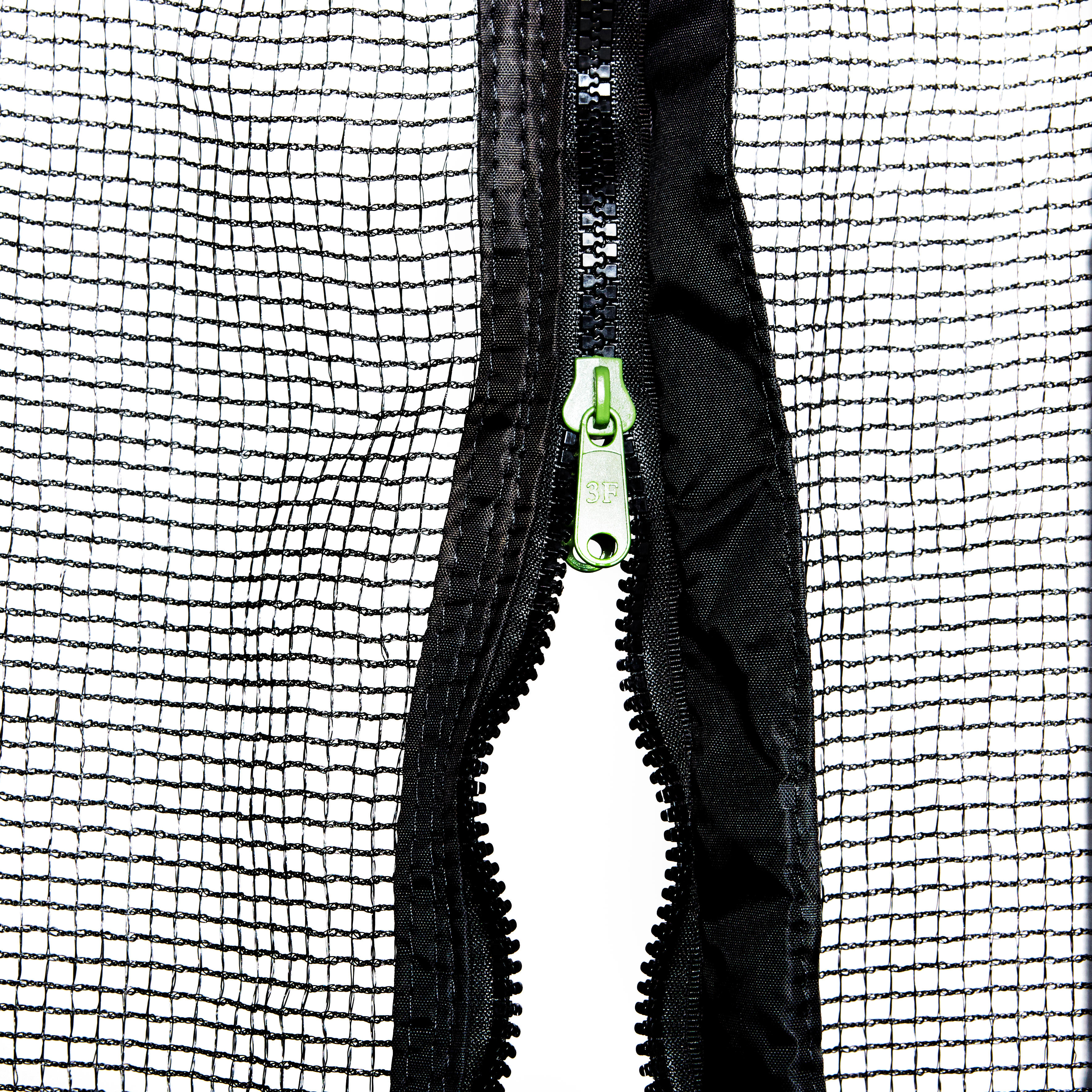 8ft Essential 240 Trampoline and Protective Netting - Green