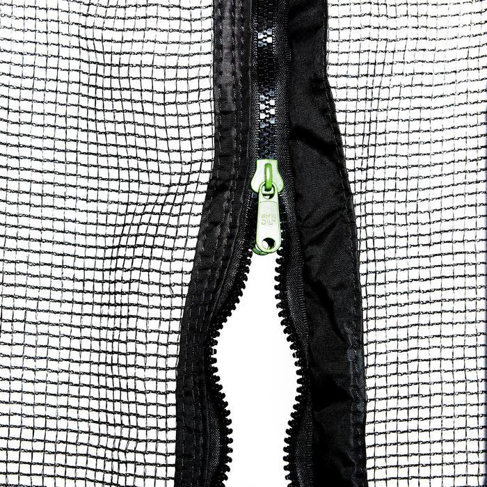 Trampolin Essential 420 mit Schutznetz grün
