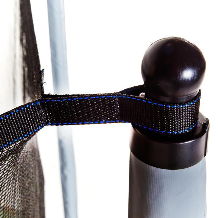 Cama elástica Essential 420 verde + red de protección