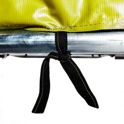 domyos trampoline essential 365 groen veiligheidsnet decathlon. Black Bedroom Furniture Sets. Home Design Ideas