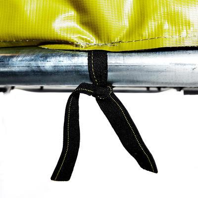 Батут Essential 420 з захисною сіткою - Зелений