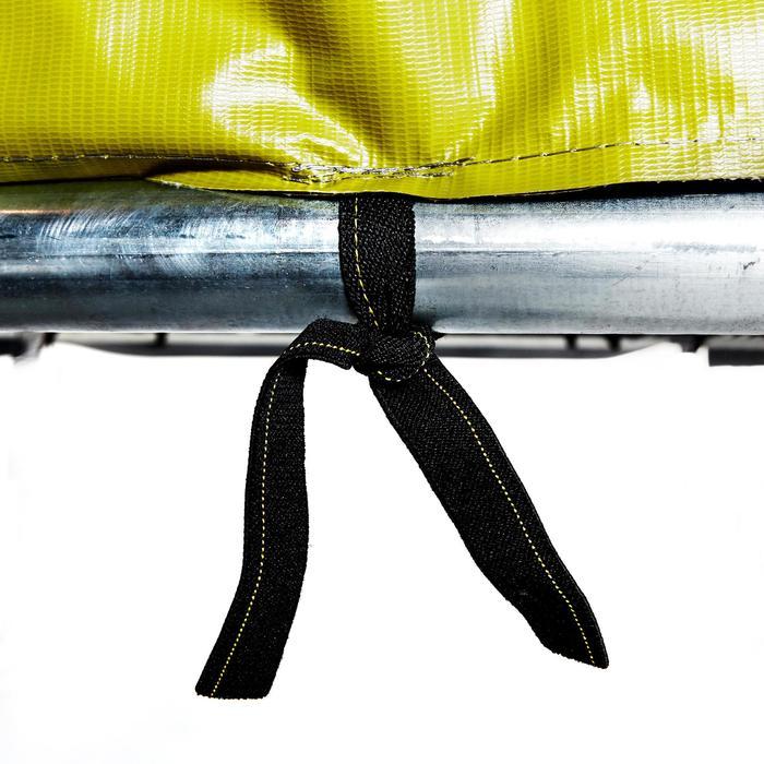 Cama elástica ESSENTIAL 365 verde + red de protección