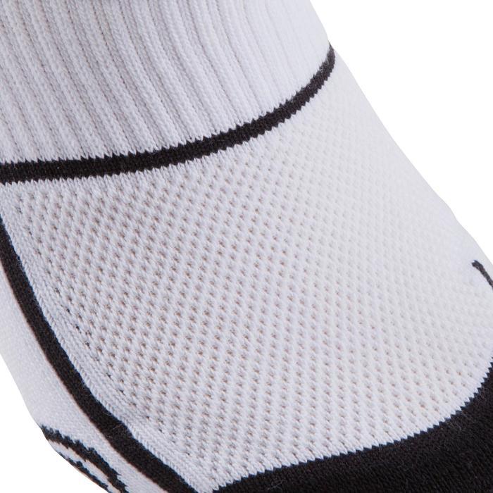 Chaussettes basketball enfant hautes blanc - 276455