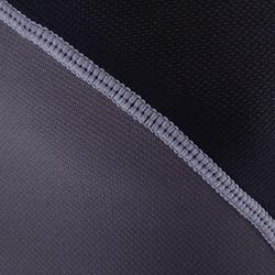 Full H 500 Adult Rugby Shoulder Pads - Black Grey