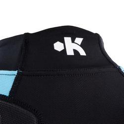Shoulder pads Full H 500 kinderen zwart/blauw - 277778