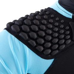 Shoulder pads Full H 500 kinderen zwart/blauw - 277782