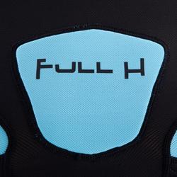 Shoulder pads Full H 500 kinderen zwart/blauw - 277783
