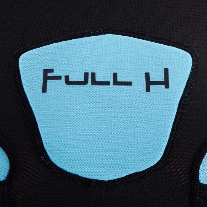Épaulière rugby enfant Full H 500 noir bleu - 277783