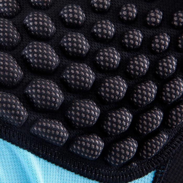 Schouderstuk rugby kinderen Full H 500 zwart/blauw