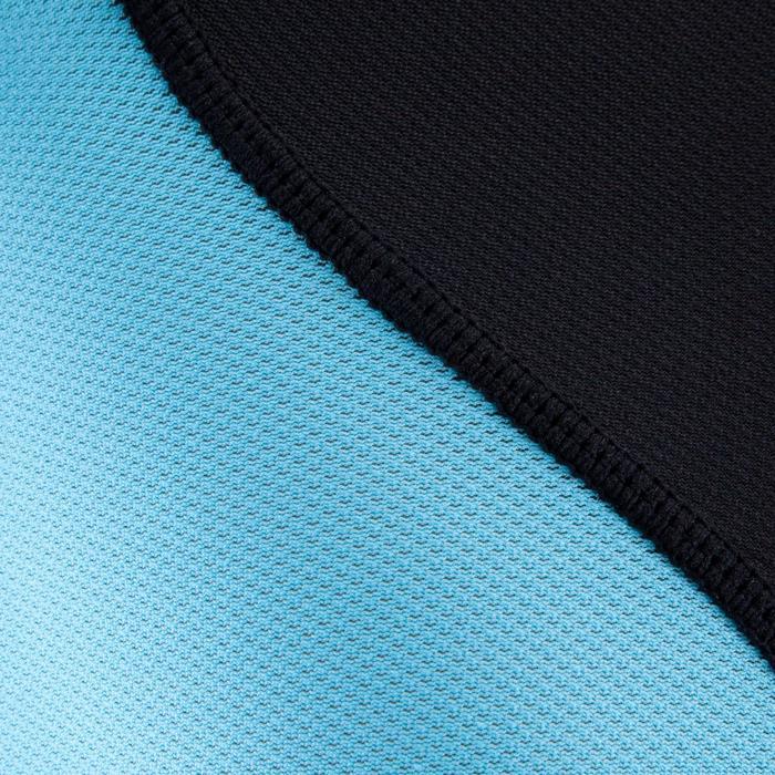 Épaulière rugby enfant Full H 500 noir bleu - 277786