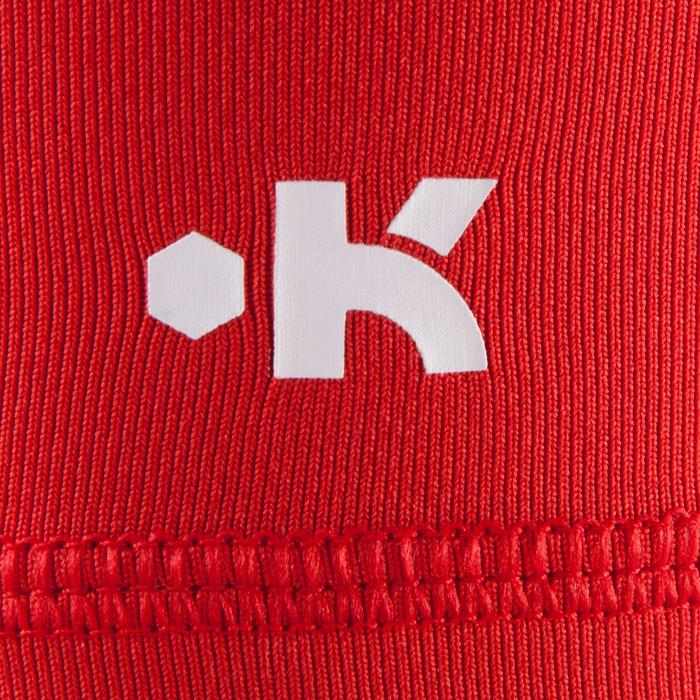 Funktionsshorts Keepdry 100 atmungsaktiv Kinder rot
