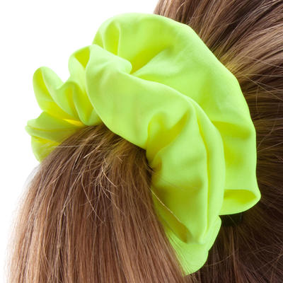 גומיית שיער לשחייה לילדות - צהוב