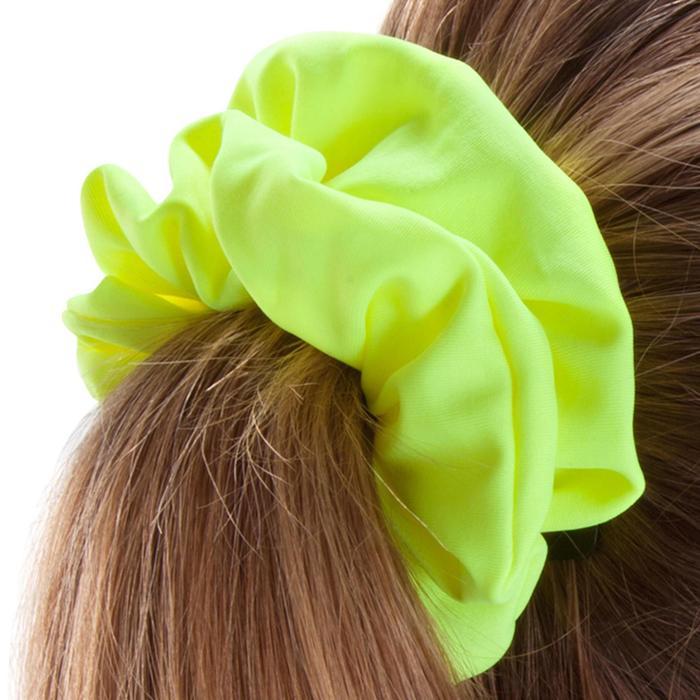 Coletero de natación para el pelo niña amarillo