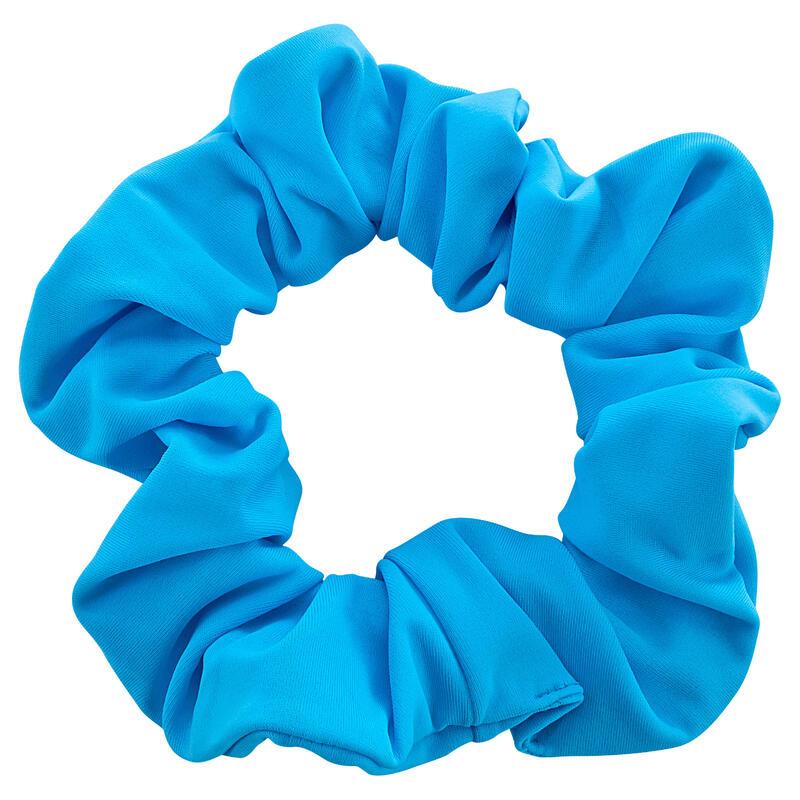 Elastico per capelli azzurro