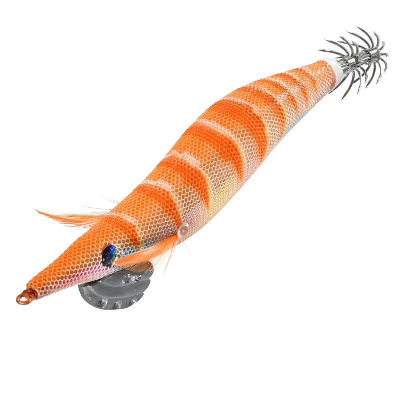 NÁSTRAHY NA SÉPIE A KALMARY Rybolov - NÁSTRAHA EBIKA 3.5 ORANŽOVÁ CAPERLAN - Návnady a nástrahy