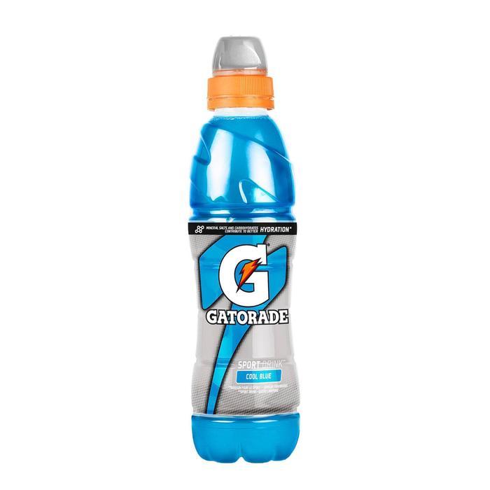 Boisson isotonique prête à boire GATORADE COOL BLUE Framboise 500ml - 278520