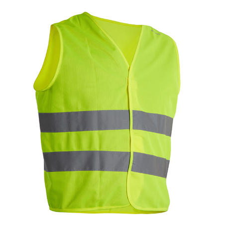 Adult Safety Vest - Neon Yellow