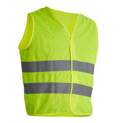 成人安全背心 - 霓虹燈黃色