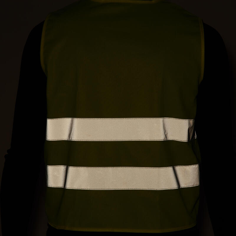 Kids' Safety Vest 3-12yrs - Yellow Green