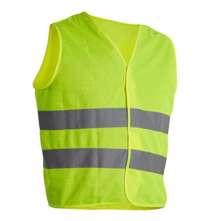 Junior Hi-Vis Cycling Gilet - EN1150 Yellow
