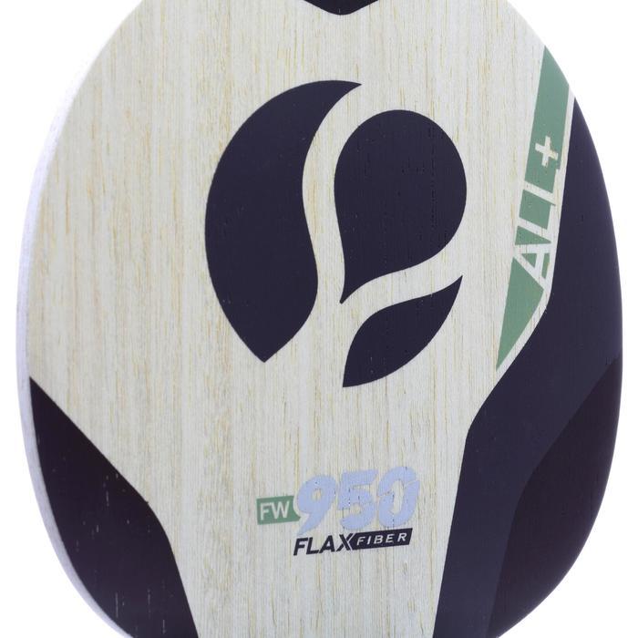 Schlägerholz Tischtennis FW950 FFAll+ beige