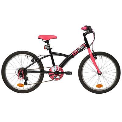 Mistigirl 320 20-Inch Kids' Bike - Black/Pink
