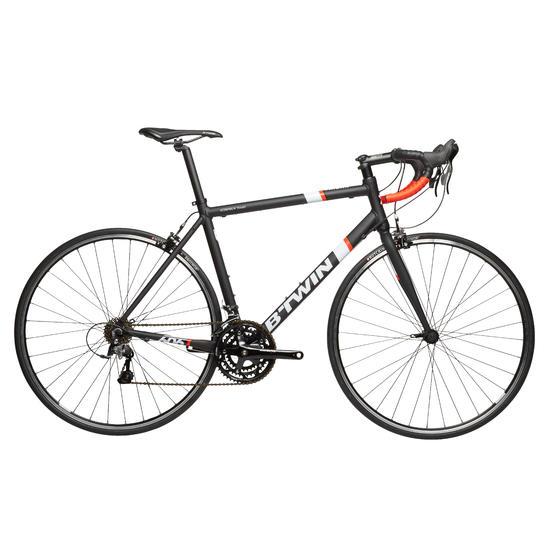 Racefiets B'TWIN Triban 500 zwart/wit/oranje - 27988