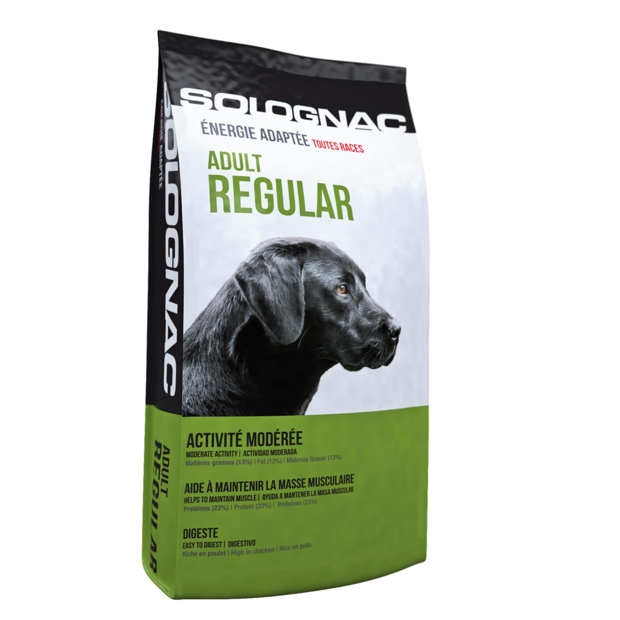 Solognac Hondenvoer Adult Regular 12 kg