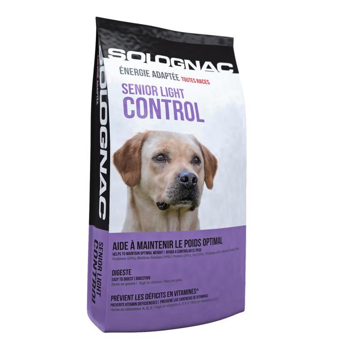 Alimentación perro Sénior Light Control 12 kg