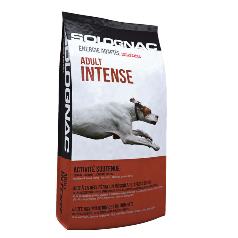 DOG NUTRITION Shooting and Hunting - INTENSE ADULT DOG FOOD SOLOGNAC - Working Dogs