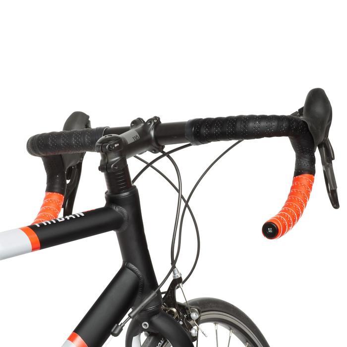 Rennrad-Lenkerband schwarz/rot