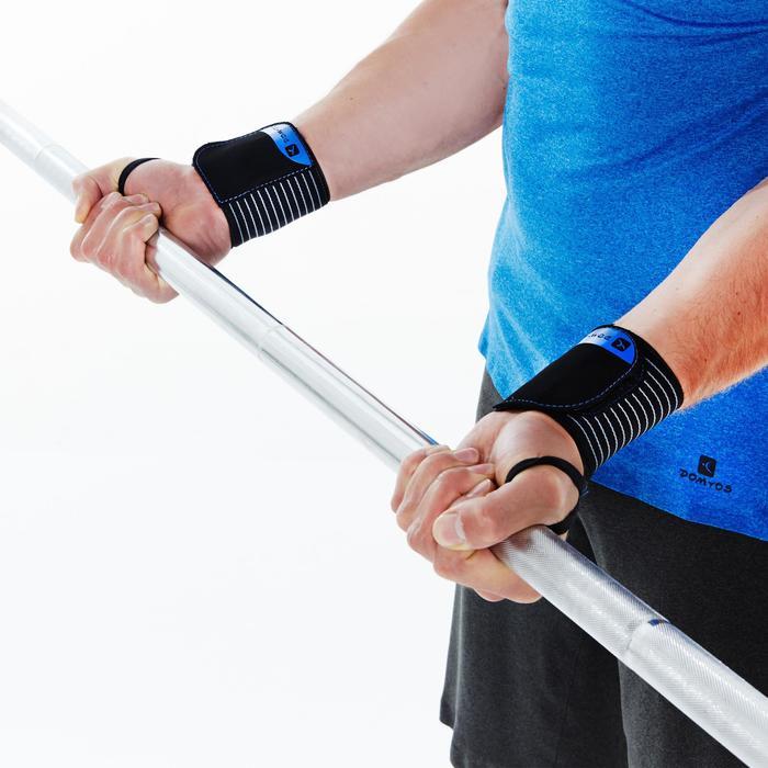 Poignets de protection musculation serrage velcro - 281884