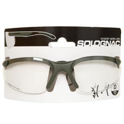 Jagdschutzbrille neutral grün