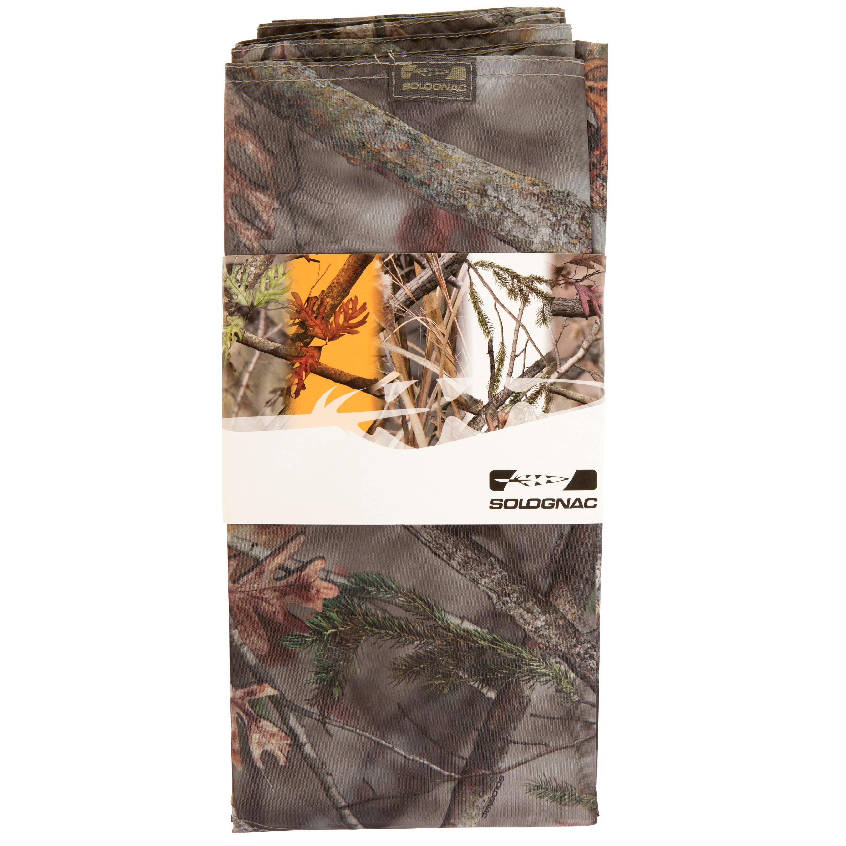 """Bâche de chasse camouflage marron 57"""" x 87"""""""