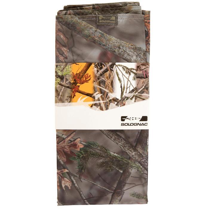 Camouflagezeil voor de jacht bruin 145x220 - 282012
