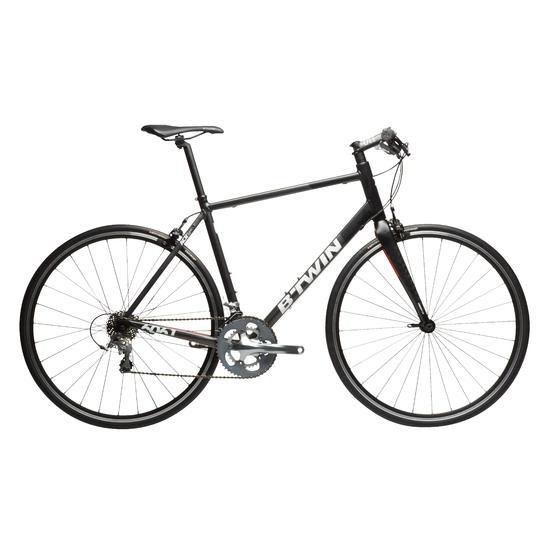 Racefiets Triban 540 FB zwart/grijs/oranje - 28239