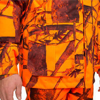 300 reversible hunting jacket - camouflage fluo