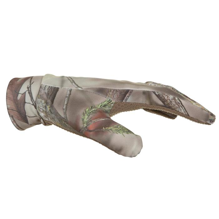 Gants chasse Actikam 300 camouflage marron - 282617