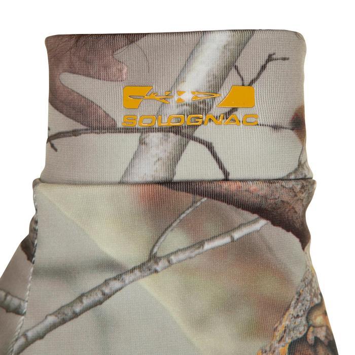 Gants chasse Actikam 300 camouflage marron - 282627