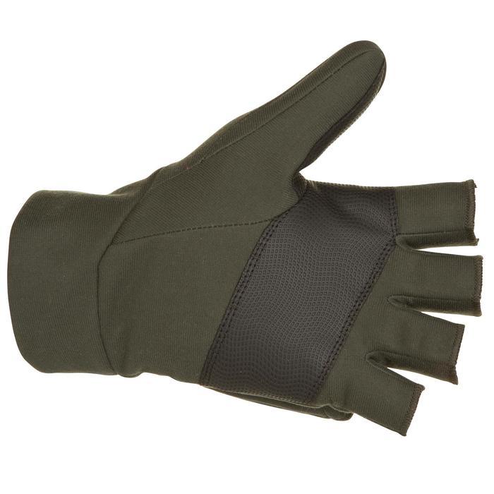 Mitaine chasse 500 softshell vert - 282636