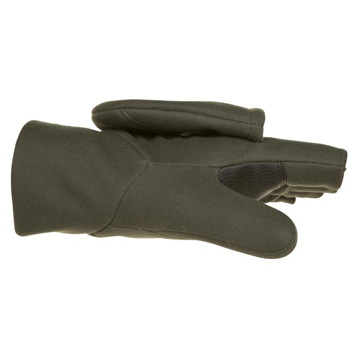 Mitaine chasse 500 softshell vert - 282639