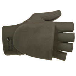 Handschoenen zonder vingers Taiga 500 softshell groen - 282648