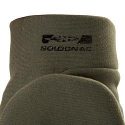 Handschoenen zonder vingers Taiga 500 softshell groen - 282655