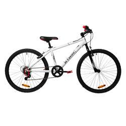 Rockrider 100 Kids' 24-Inch Mountain Bike 9-12 Years