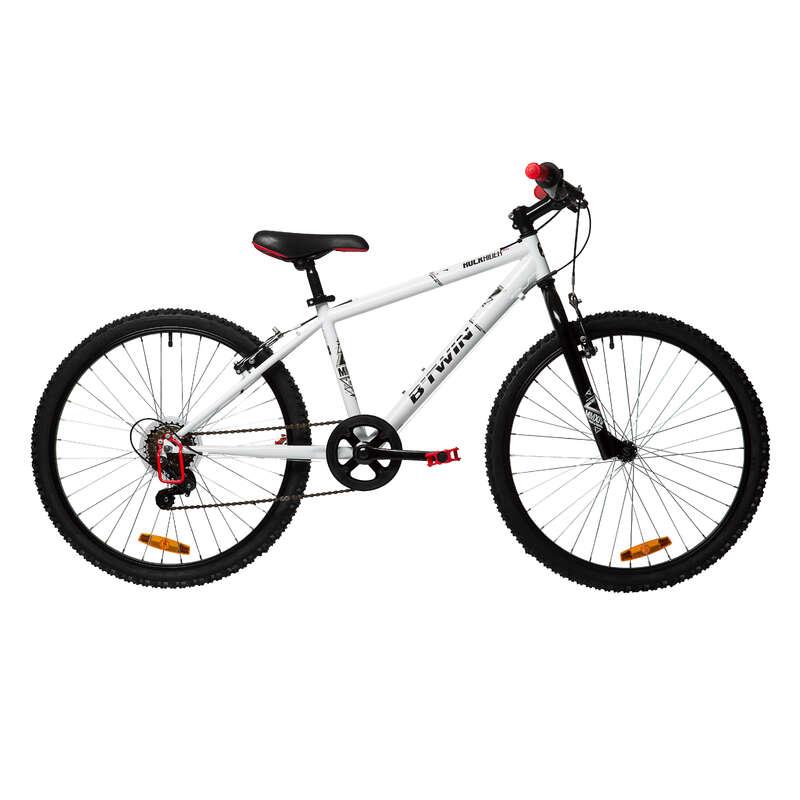 MOUNTAINBIKES JUNIOR 6-12 ÅR Cykel - MTB ROCKRIDER 100 9-12 år BTWIN - Cykel 17