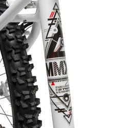 MTB 24 inch Rockrider 300 wit - 28286