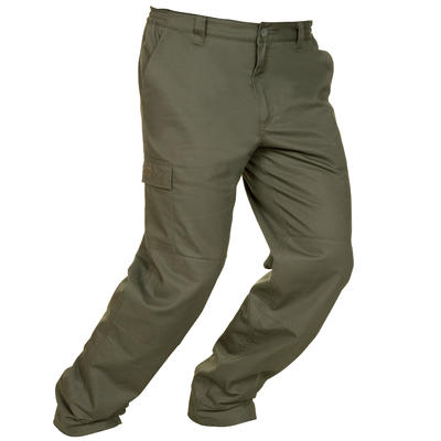 WARM TROUSERS 100 GREEN