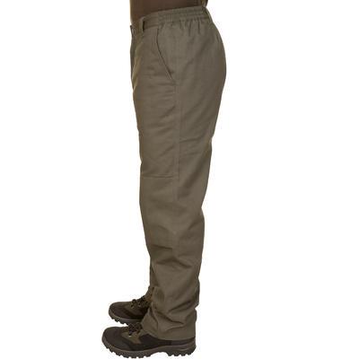 Штани 100 для полювання - Зелені
