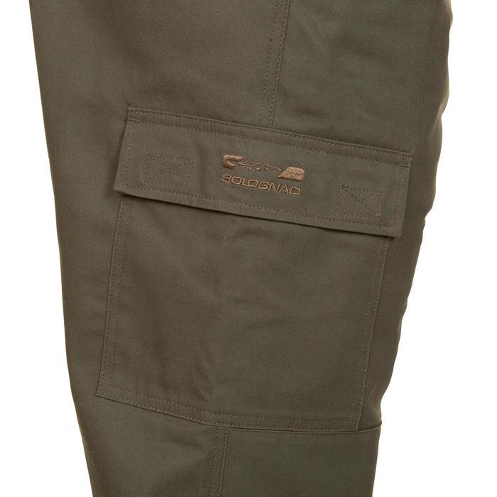 Pantalón caza 100 verde